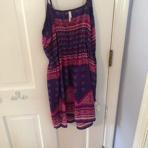 """""""Silk"""" mini dress"""